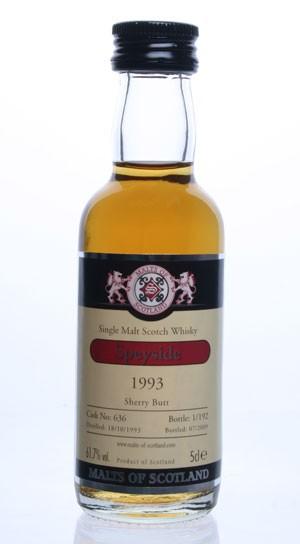 Speyside Distillery 1993 - Cask 636- Mini