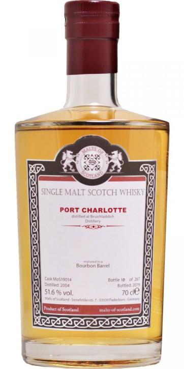 Port Charlotte 2004 - MoS19014 - Bourbon Barrel