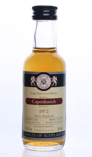 Caperdonich 1972 - Cask 1144- Mini