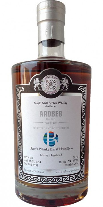 "Ardbeg 1991 ""Geerts Whisky bar"" MoS14054"