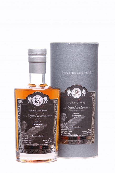 MALTS OF SCOTLAND Angel Choice Bowmore 1980