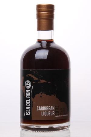 ISLA DEL RON - coffee -caribbean liqueur
