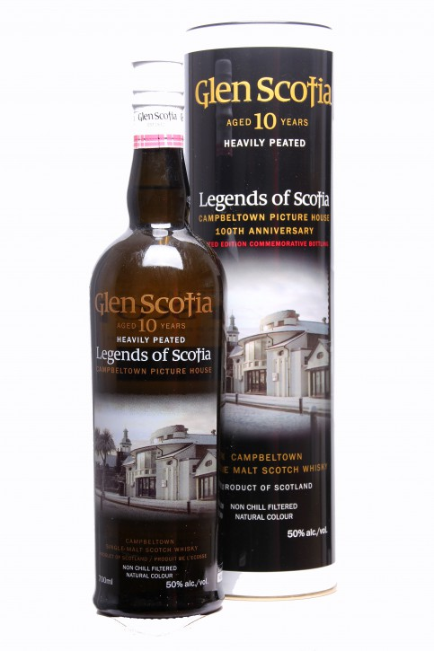 """Glen Scotia """"Picture House"""" - Heavily Peated"""