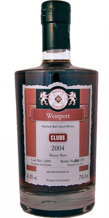 MOS12001 Westport Clubs