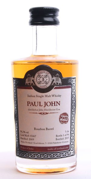 """Paul John """"peated"""" - MoS15067 - Mini"""