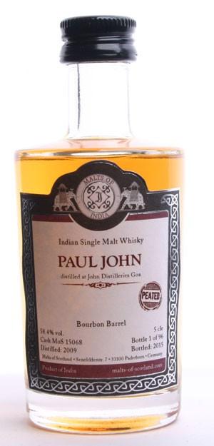 """Paul John """"peated"""" - MoS15068 - Mini"""