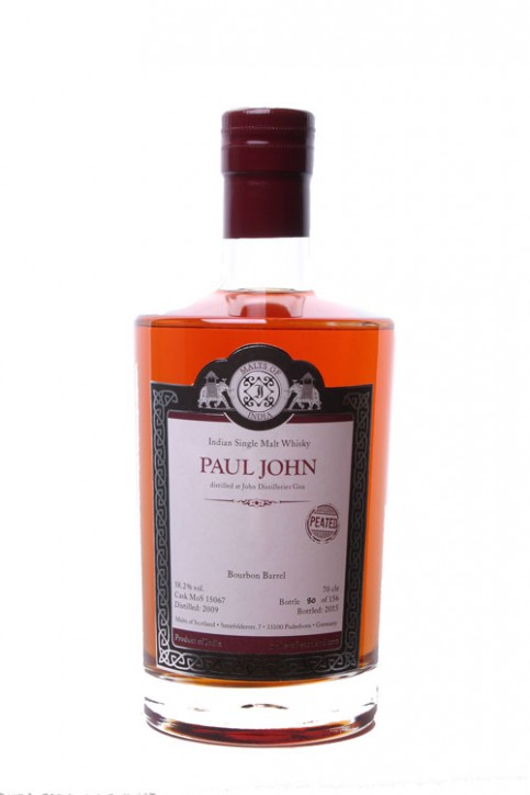 MOS Malts of India - Paul John 2009 - PEATED