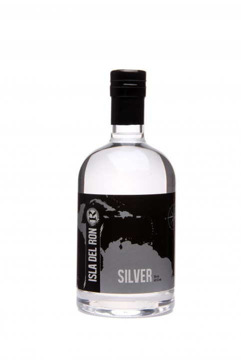 ISLA DEL RON - silver - destilled on Guyana