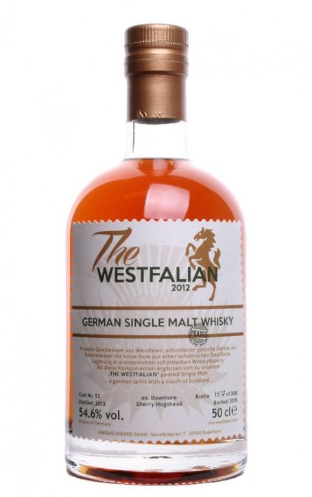 The WESTFALIAN- German Single Malt Whisky - PEATED - TW52