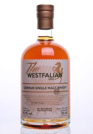 The WESTFALIAN- German Single Malt Whisky PEATED - TW32