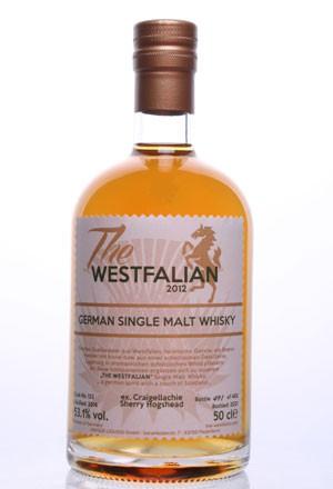 The WESTFALIAN- German Single Malt Whisky  - TW122