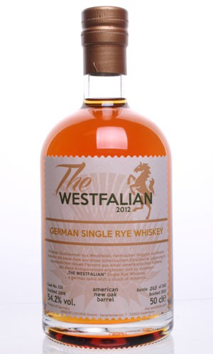 The WESTFALIAN- German Single Rye Whiskey - TW125