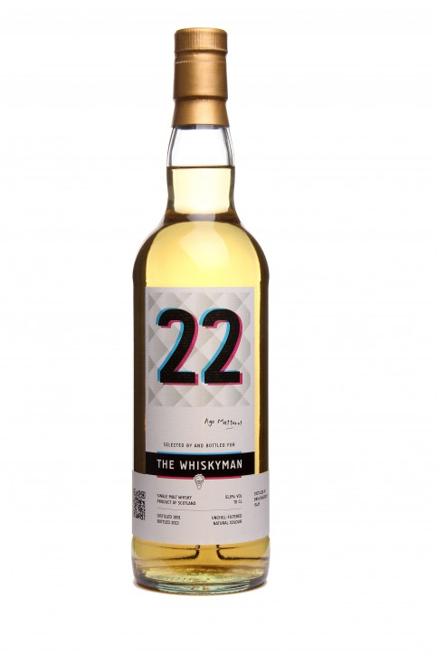 "The Whiskyman - Bruichladdich 1991 <br> age matters ""22"""