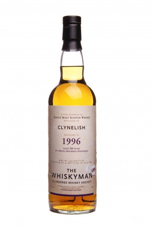 """THE WHISKYMAN - Clynelish 1996 <br>""""FOR LWS"""""""