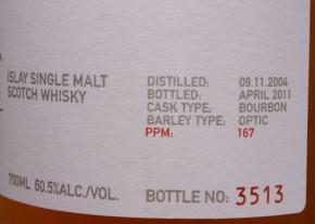 """BRUICHLADDICH - """"Octomore-The BEAST 167 ppm"""" Futures"""