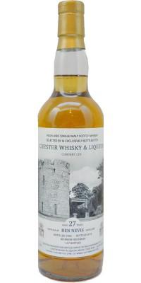 Chester Whisky - Ben Nevis