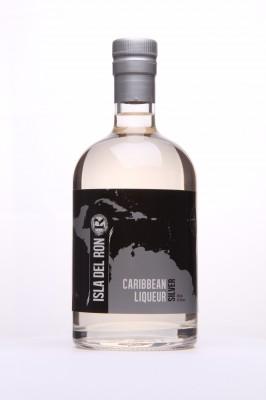 ISLA DEL RON - silver -caribbean liqueur
