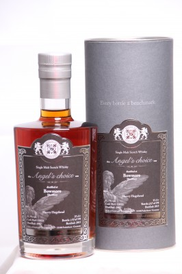 MALTS OF SCOTLAND Angel Choise Bowmore 1987