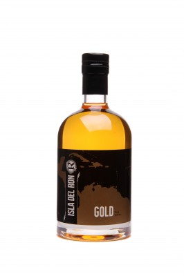 ISLA DEL RON - gold - destilled on Guyana