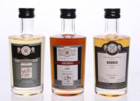 TASTING SET - Malts of Scotland - Rarität BOWMORE / ARDBEG
