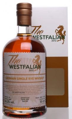 The WESTFALIAN- German Single Rye Whiskey - TW125