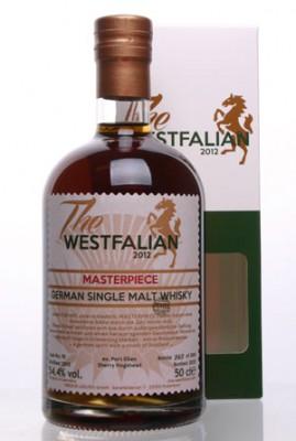 The WESTFALIAN- German Single Malt Whisky TW76 MASTERPIECE