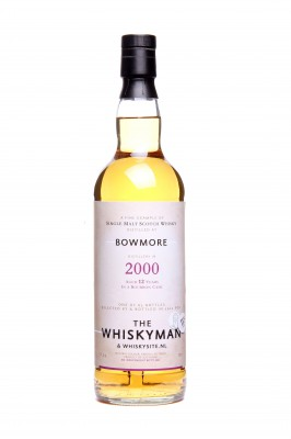 "THE WHISKYMAN - Bowmore 2000 <br> ""whiskysite NL"""