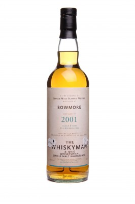 "THE WHISKYMAN - Bowmore 2001 <br> ""QV.ID & WHISKYSIDE.NL"""