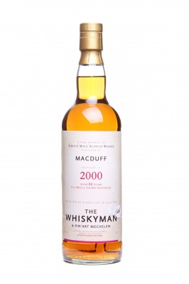 "THE WHISKYMAN - Macduff 2000 <br>""bottled for PIN ART"""