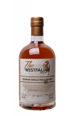The WESTFALIAN- German Single Malt Whisky-PEATED