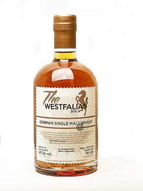 The WESTFALIAN- German Single Malt Whisky - PEATED